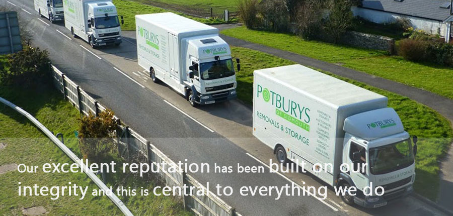 potburys removals on the road